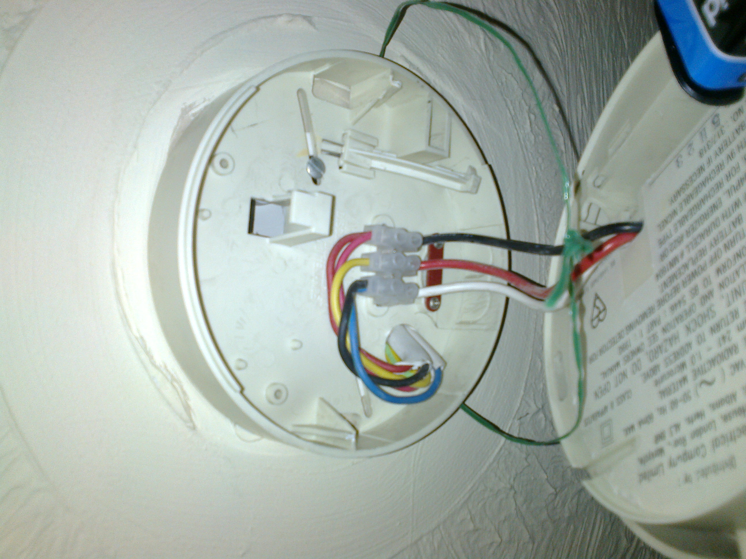 Smoke detector wiring uk example electrical wiring diagram crossed up wiring on smoke alarm nexelec electrician rh nexelec co uk smoke detector wiring harness smoke detector wiring kissimmee asfbconference2016