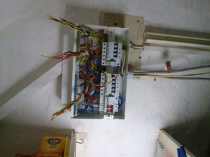 Domestic Electrical Consumer Unit